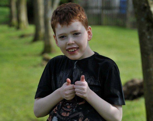 Мальчик с синдромом Леннокса-Гасто