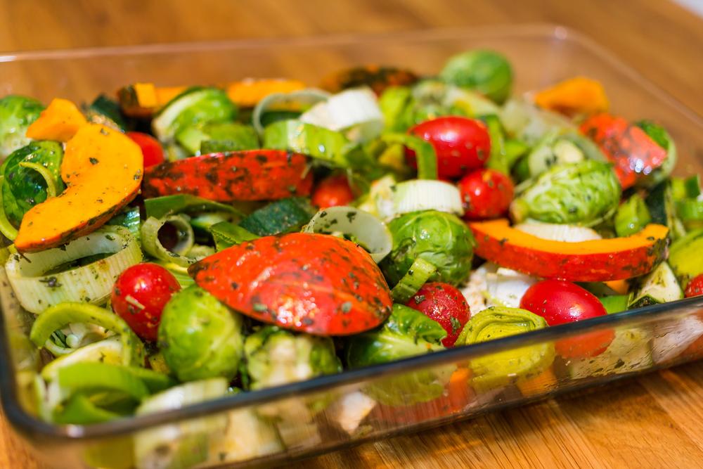 Овощи при правильном питании