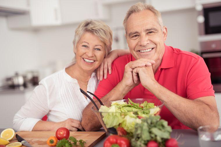 Правильное питание пожилых