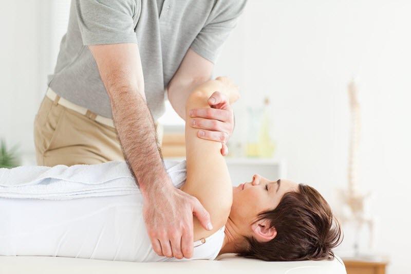 Массаж плечевого отдела